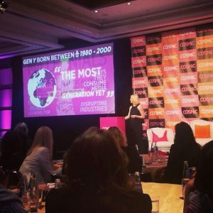Joan in Argentina presents at Global Cosmo Mag Conference