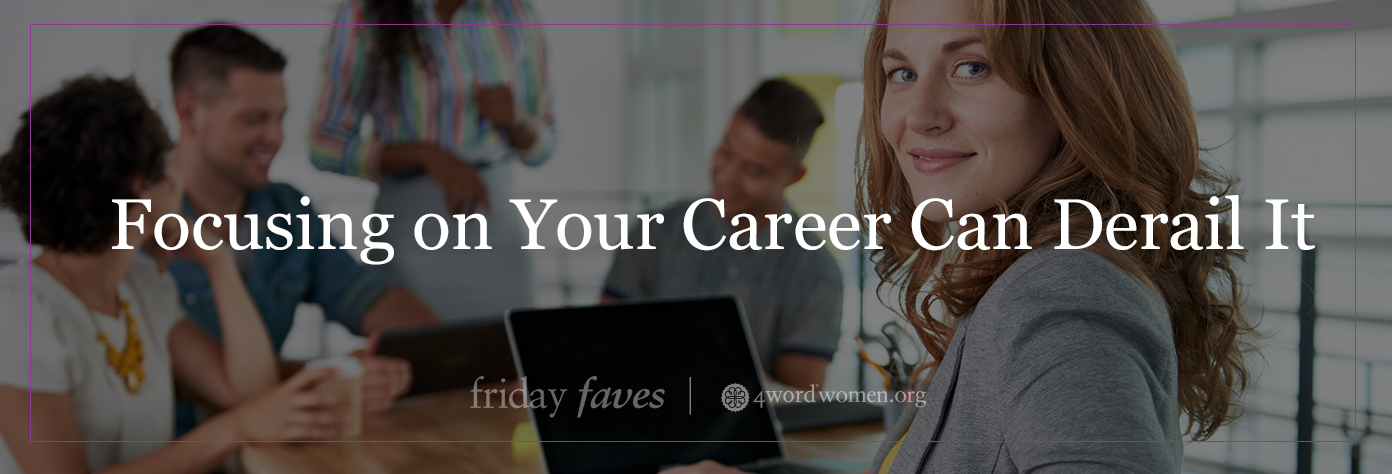 focusing on your career