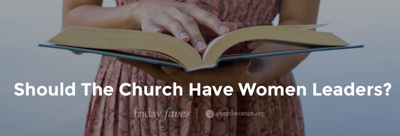should church have female leaders