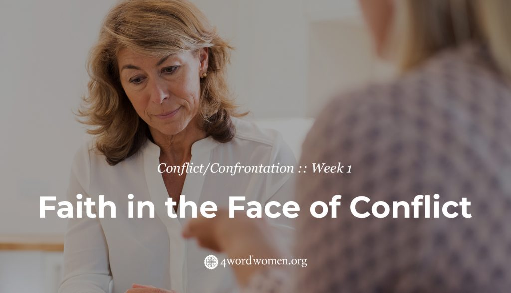 faith in the face of conflict