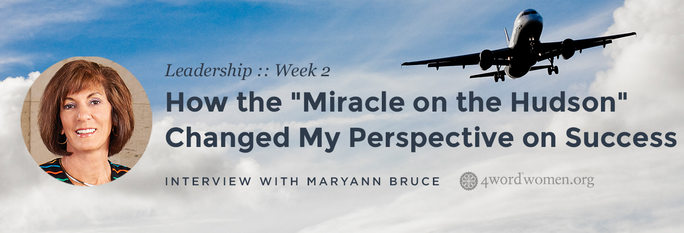 """How the """"Miracle on the Hudson"""" Changed My Perspective on Success"""